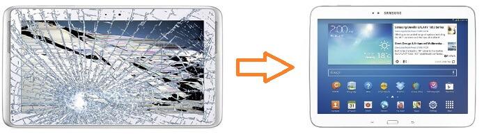 Tablet reparatie en kosten van repareren